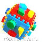 Логический куб со вставными деталями (Построй фигурки)