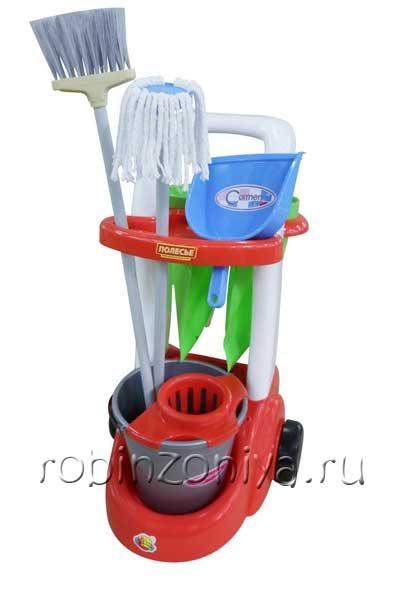 Помощница набор для уборки Полесье