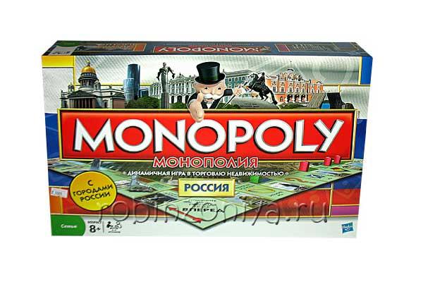 Настольная игра монополия Россия купить в интернет-магазине robinzoniya.ru.