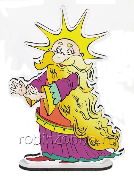 Методика Воскобовича персонаж Луч Владыка купить в интернет-магазине robinzoniya.ru.