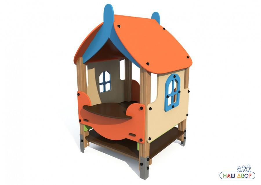 Домик Вальдика V-5009 для детской площадки купить в Воронеже в интернет-магазине robinzoniya.ru.