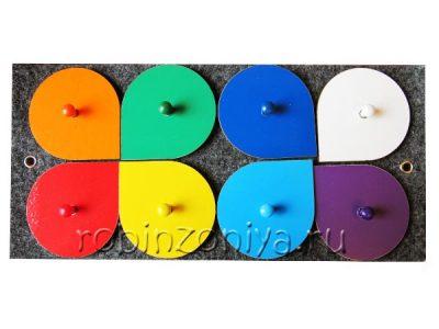 Воскобович Лепестки (эталоны цвета)