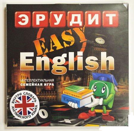 Настольная игра для детей Эрудит Easy English купить в интернет-магазине robinzoniya.ru.