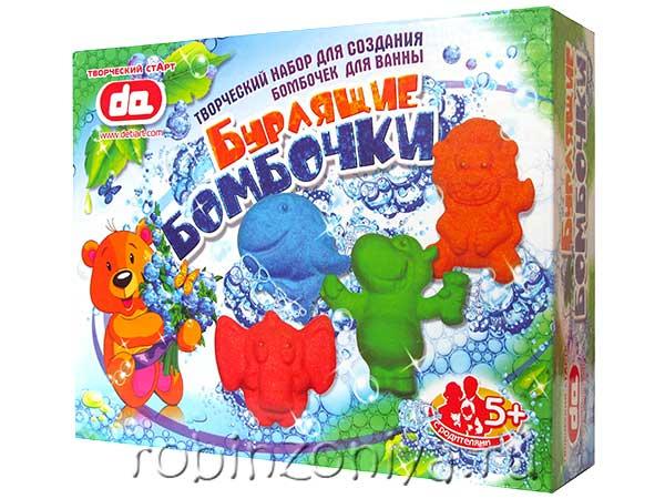 Набор бурлящие бомбочки для ванны Животные купить в интернет-магазине robinzoniya.ru.