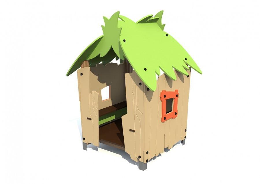 Домик Тропика T-5009 для детской площадки купить в Воронеже в интернет-магазине robinzoniya.ru.