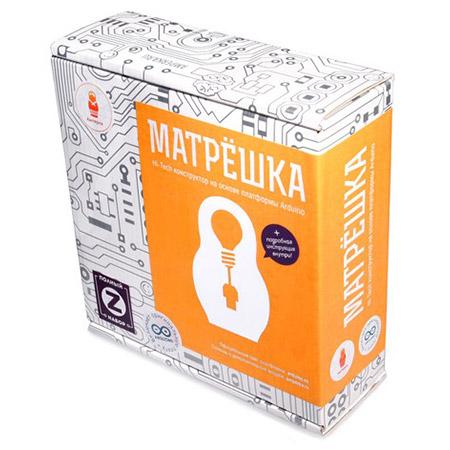 Набор Arduino от Амперка Матрешка Z купить с доставкой по России в интернет-магазине robinzoniya.ru.