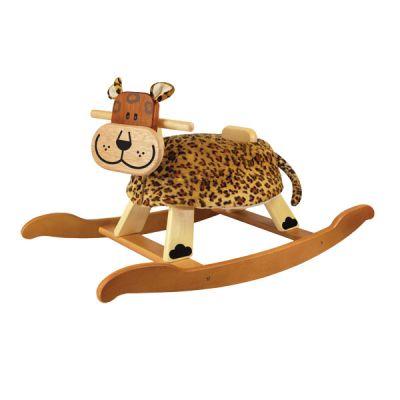Качалка детская леопард I m toy купить в интернет-магазине robinzoniya.ru.