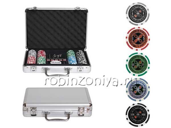 Набор для покера ULTIMATE на 200 фишек купить в Воронеже в интернет-магазине robinzoniya.ru.