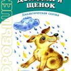 Книга детская Дождик и щенок