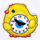 Игра часики Цыпленок (учим время с детьми),Дрофа