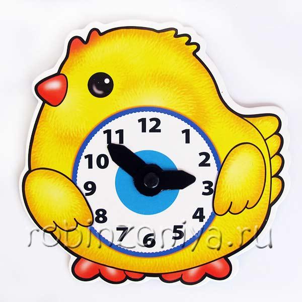 Игра часики Цыпленок купить с доставкой по России в интернет-магазине robinzoniya.ru.