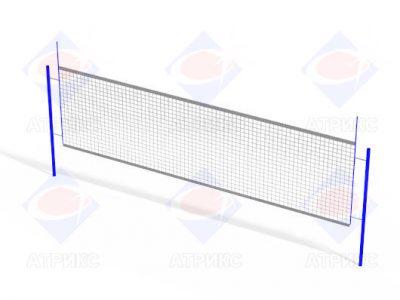 Стойка волейбольная (комплект) без сетки СО 5.05
