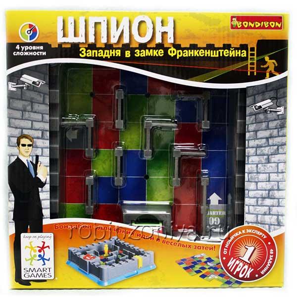 Игры bondibon шпион купить в интернет-магазине robinzoniya.ru.