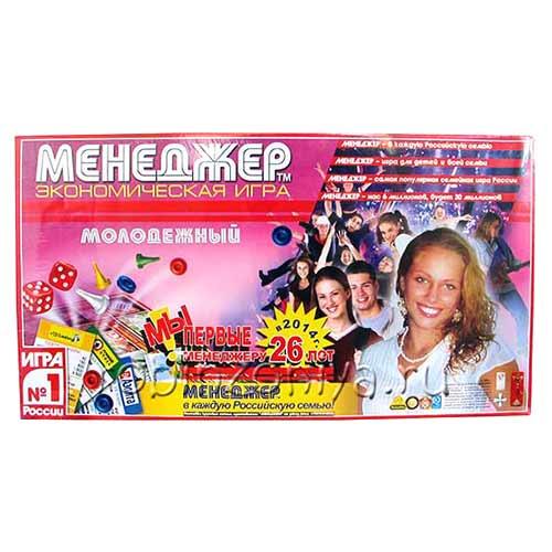 Настольная игра менеджер молодежный купить в интернет-магазине robinzoniya.ru.