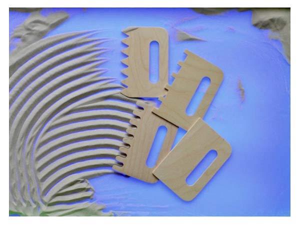Гребни для рисования песком купить с доставкой по России в интернет-магазине robinzoniya.ru.