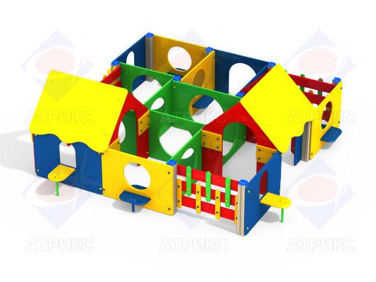 Лабиринт 9 секций МФ 5.169 купить в Воронеже в интернет-магазине robinzoniya.ru.