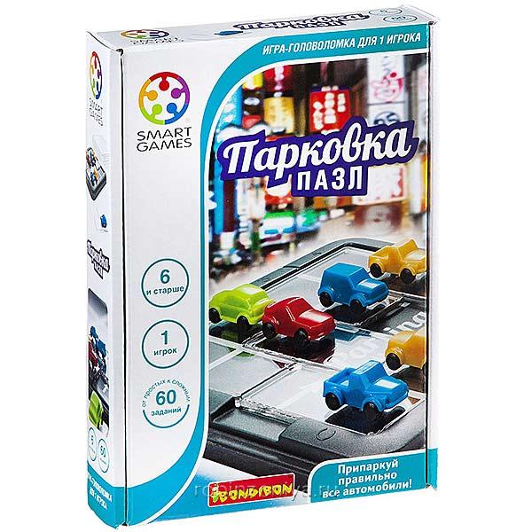Логическая игра Парковка. Пазл,Bondibon купить в интернет-магазине robinzoniya.ru.