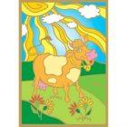 Раскраски золотинки Задорная коровка