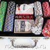 Набор для покера Royal Flush 200 фишек