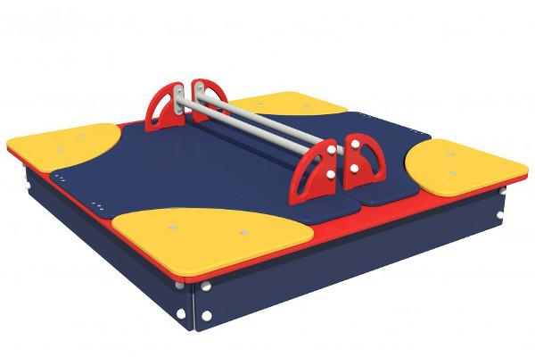 Песочница с крышкой для детских садов и частных центров купить в интернет-магазине robinzoniya.ru.
