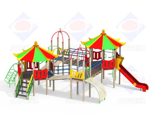 Детский игровой комплекс 4.182 купить в Воронеже в интернет-магазине robinzoniya.ru.