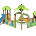 Игровой комплекс Песочный дворик Тропика Т-5308