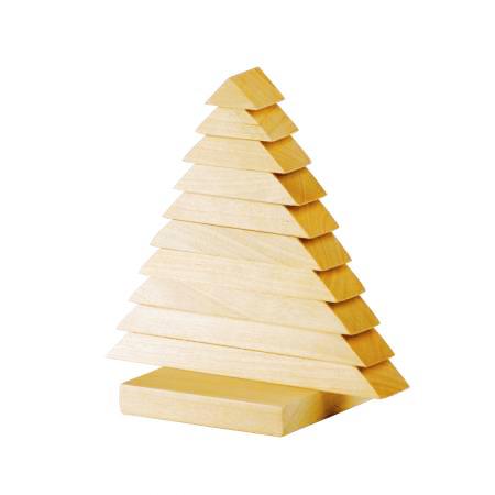 Деревянная пирамидка Ёлочка купить в интернет-магазине robinzoniya.ru.