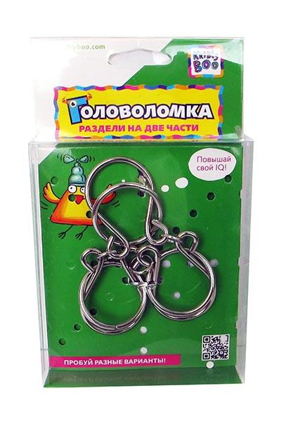 Головоломка металлическая большая купить в интернет-магазине robinzoniya.ru.