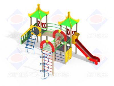 Детский игровой комплекс 3.04 - 15 H=1500