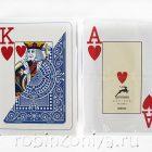 Пластиковые карты для покера Modiano Texas Poker, 100% пластик, увеличенный индекс