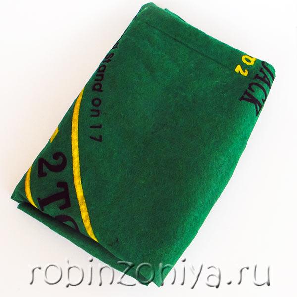 Сукно для игры в покер (90 на 60 см) купить с доставкой по России в интернет-магазине robinzoniya.ru.
