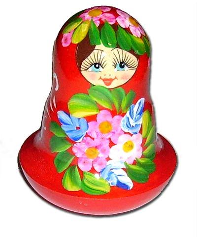 Деревянная неваляшка для детей Девочка купить в интернет-магазине robinzoniya.ru.