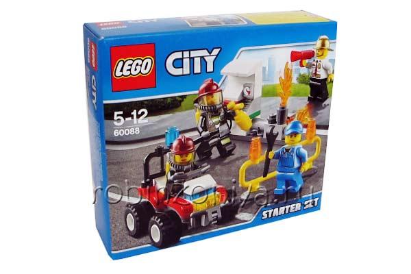 Конструктор Лего Сити 60088 Пожарная охрана купить с доставкой по России в интернет-магазине robinzoniya.ru.