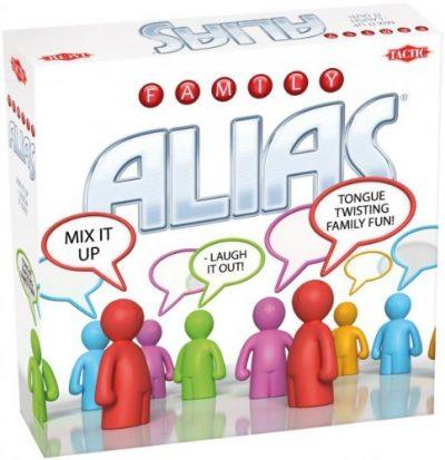 Настольная игра Скажи иначе Для всей семьи, Алиас