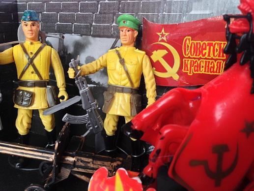 Солдатики красной армии купить в интернет-магазине robinzoniya.ru.