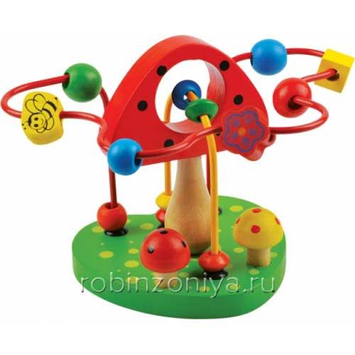 Детская игрушка Лабиринт Грибочек