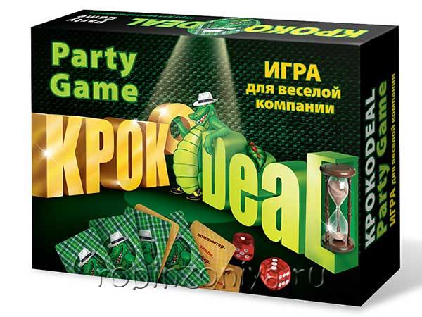 Настольная игра Кроко Deal купить в интернет-магазине robinzoniya.ru.