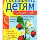 Дидактические карточки Расскажите детям о садовых ягодах