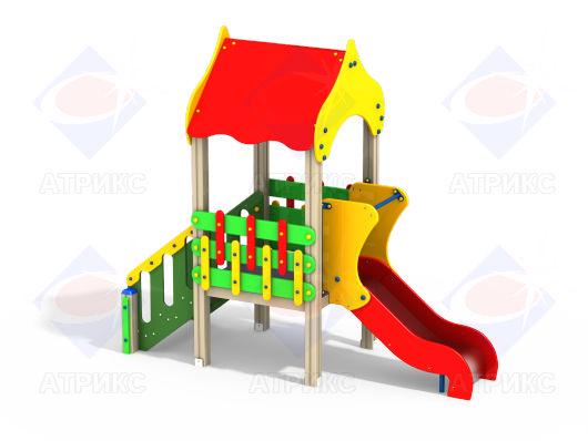 Детский игровой комплекс 1.093 купить в Воронеже в интернет-магазине robinzoniya.ru.