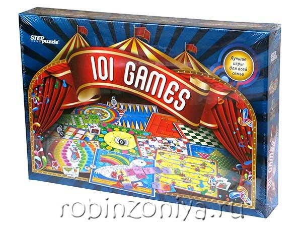 Настольная игра 101 лучшая игра мира от Step Puzzle купить можно в Робинзонии.