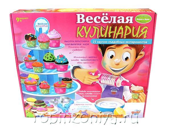 Веселая кулинария 25 экспериментов из серии Французские опыты Bondibon купить с доставкой по России в интернет-магазине robinzoniya.ru.