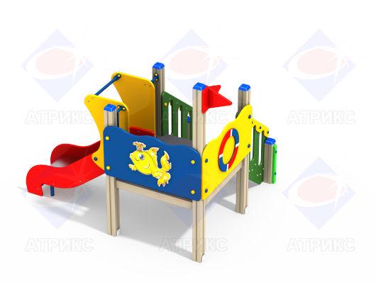 Детский игровой комплекс 2.137 купить в Воронеже в интернет-магазине robinzoniya.ru.
