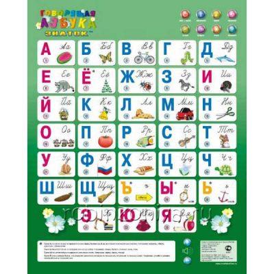Электронный плакат Говорящая азбука NEW