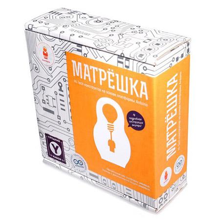 Набор Arduino от Амперка Матрешка Y купить с доставкой по России в интернет-магазине robinzoniya.ru.