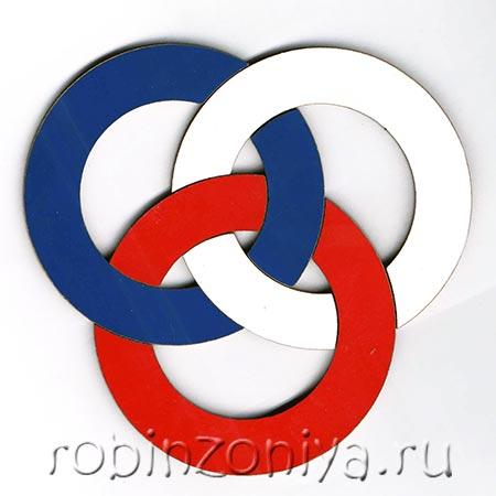 Игра головоломка Три кольца Воскобовича купить в интернет-магазине robinzoniya.ru.