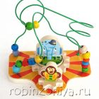 Лабиринт сортер Цирк,Мир деревянной игрушки