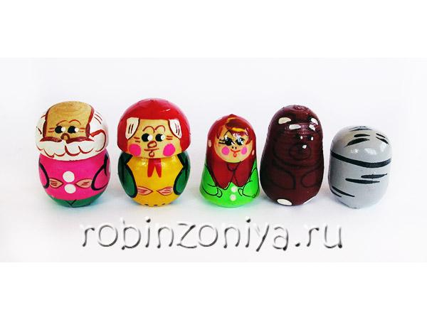 Пальчиковый театр Маша и медведь купить в интернет-магазине robinzoniya.ru.