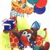 Зайка в цирке Развитие речи, книга детская