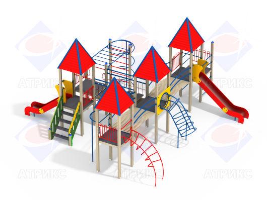 Детский игровой комплекс 4.171 купить в Воронеже в интернет-магазине robinzoniya.ru.