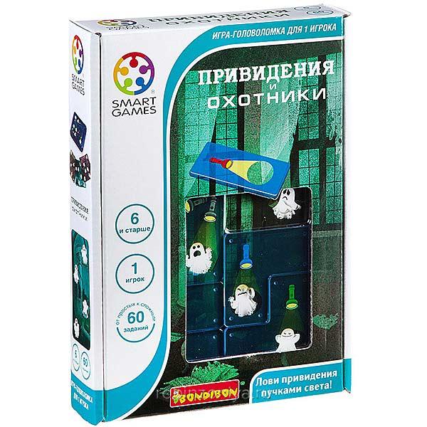 Логическая игра Охотники и привидения,Bondibon купить в интернет-магазине robinzoniya.ru.